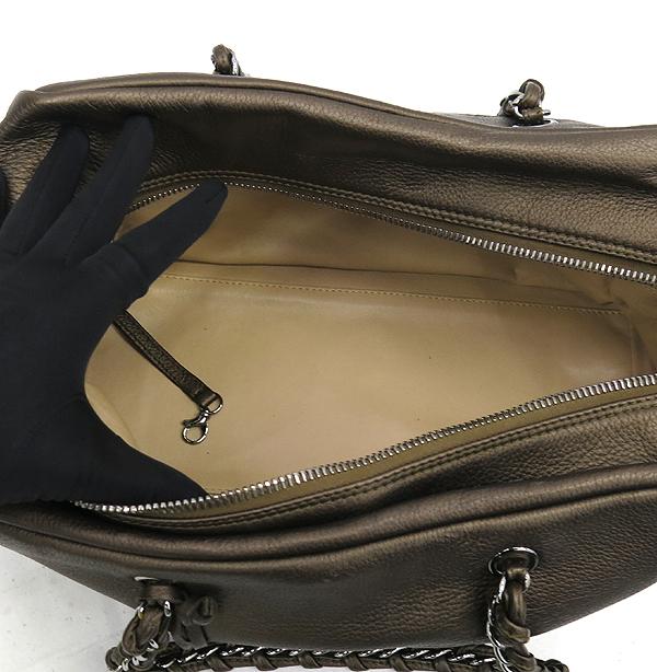 Chanel(샤넬) 브라운 컬러 램스킨 체인 볼링백 [강남본점] 이미지5 - 고이비토 중고명품
