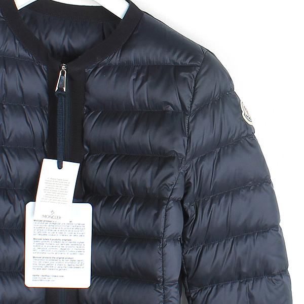 MONCLER(몽클레어) 네이비 컬러 HEMATITE(헤마티테) 롱 경량 패딩 자켓 [강남본점] 이미지2 - 고이비토 중고명품