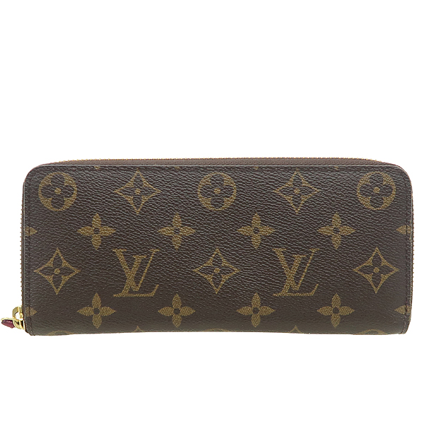 Louis Vuitton(루이비통) M60742 모노그램 캔버스 푸시아 클레망스 지피 월릿 장지갑 [강남본점] 이미지2 - 고이비토 중고명품