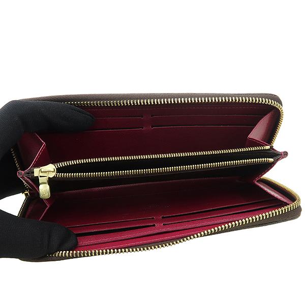 Louis Vuitton(루이비통) M60742 모노그램 캔버스 푸시아 클레망스 지피 월릿 장지갑 [강남본점] 이미지3 - 고이비토 중고명품