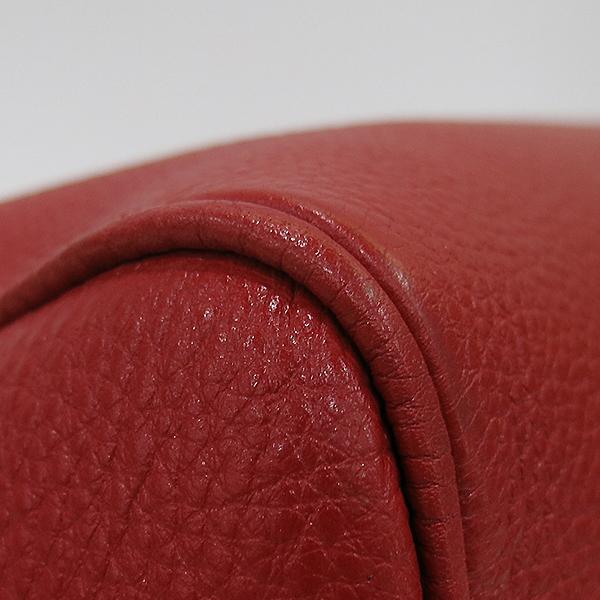 Prada(프라다) 1BB797 금장 레드 비텔로다이노 보스턴 토트백 + 숄더스트랩 [부산센텀본점] 이미지6 - 고이비토 중고명품