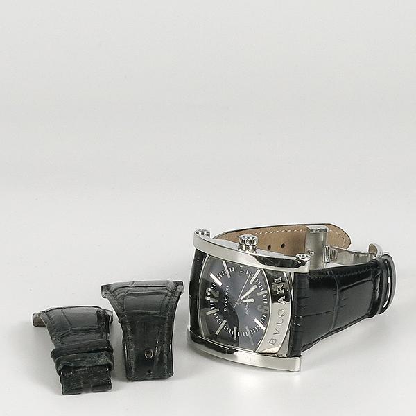 Bvlgari(불가리) AA48S ASSIOMA(아시오마) 오토매틱 가죽 밴드 남성용 시계 [강남본점]