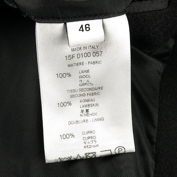 GIVENCHY(지방시) 15f 0100 슬리브 레더 체스터 남성용 롱 코트 [강남본점] 이미지5 - 고이비토 중고명품