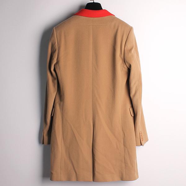GIVENCHY(지방시) 울 혼방 베이지 컬러 레드/네이비 배색 남성용 코트 [강남본점] 이미지3 - 고이비토 중고명품