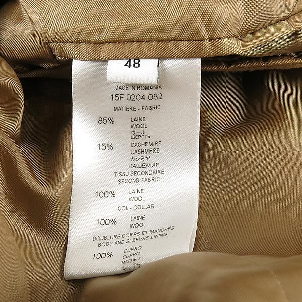 GIVENCHY(지방시) 울 혼방 베이지 컬러 레드/네이비 배색 남성용 코트 [강남본점] 이미지5 - 고이비토 중고명품