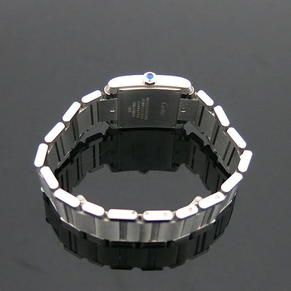 Cartier(까르띠에) WSTA0005 탱크 프랑세즈 신형 M사이즈 쿼츠 스틸 남여공용 시계 [부산센텀본점] 이미지6 - 고이비토 중고명품