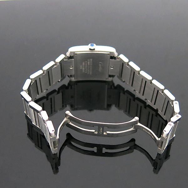 Cartier(까르띠에) WSTA0005 탱크 프랑세즈 신형 M사이즈 쿼츠 스틸 남여공용 시계 [부산센텀본점] 이미지7 - 고이비토 중고명품