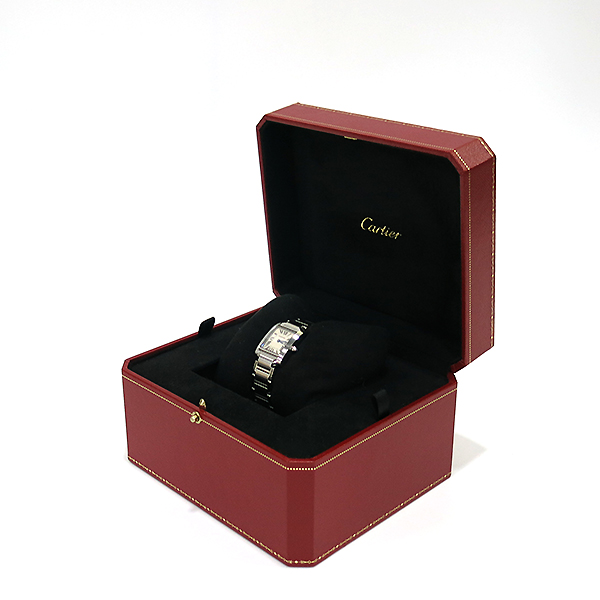 Cartier(까르띠에) W51008Q3 탱크 프랑세스 S사이즈 쿼츠 스틸 여성용 시계 [부산센텀본점] 이미지2 - 고이비토 중고명품