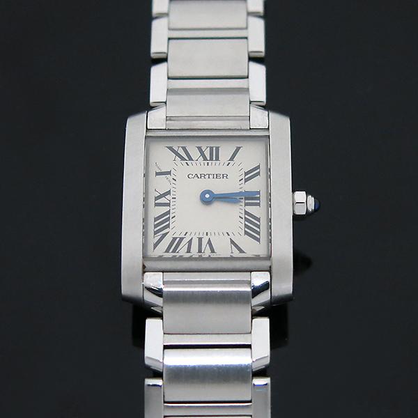 Cartier(까르띠에) W51008Q3 탱크 프랑세스 S사이즈 쿼츠 스틸 여성용 시계 [부산센텀본점] 이미지3 - 고이비토 중고명품