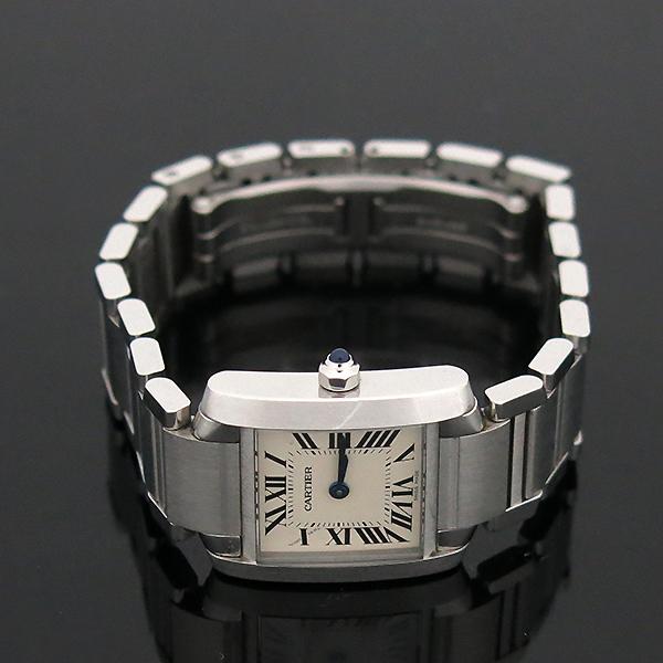 Cartier(까르띠에) W51008Q3 탱크 프랑세스 S사이즈 쿼츠 스틸 여성용 시계 [부산센텀본점] 이미지4 - 고이비토 중고명품