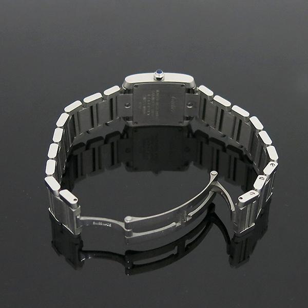 Cartier(까르띠에) W51008Q3 탱크 프랑세스 S사이즈 쿼츠 스틸 여성용 시계 [부산센텀본점] 이미지6 - 고이비토 중고명품