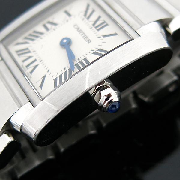 Cartier(까르띠에) W51008Q3 탱크 프랑세스 S사이즈 쿼츠 스틸 여성용 시계 [부산센텀본점] 이미지7 - 고이비토 중고명품