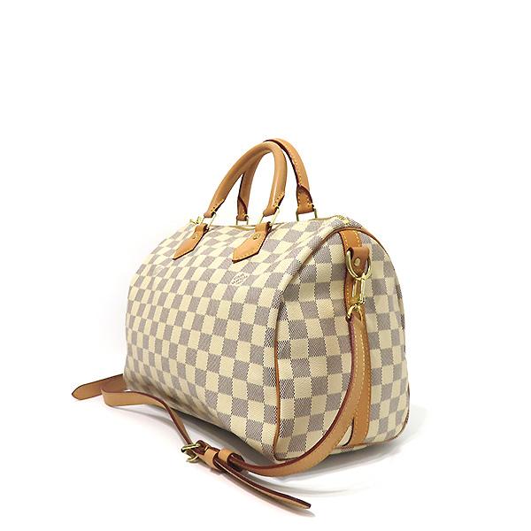 Louis Vuitton(루이비통) N41373 다미에 아주르 캔버스 스피디 반둘리에 30 토트백 + 숄더스트랩  [부산서면롯데점] 이미지3 - 고이비토 중고명품