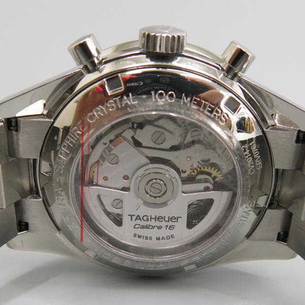 Tag Heuer(태그호이어) CV2014-2 CARRERA (까레라) 41MM 크로노그래프 오토매틱 시스루백 스틸 남성용 시계 [동대문점] 이미지4 - 고이비토 중고명품