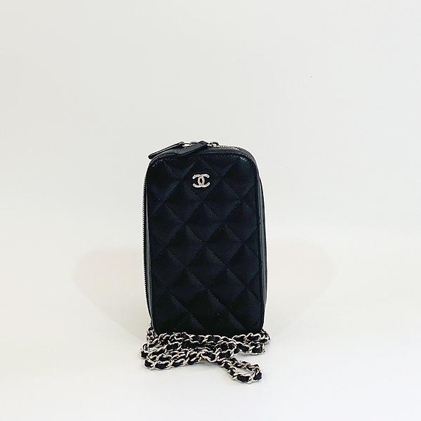 Chanel(샤넬) A70655 은장 COCO 로고 블랙 캐비어 미니 크로스백 [대구동성로점] 이미지2 - 고이비토 중고명품