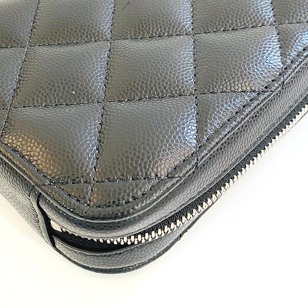 Chanel(샤넬) A70655 은장 COCO 로고 블랙 캐비어 미니 크로스백 [대구동성로점] 이미지6 - 고이비토 중고명품