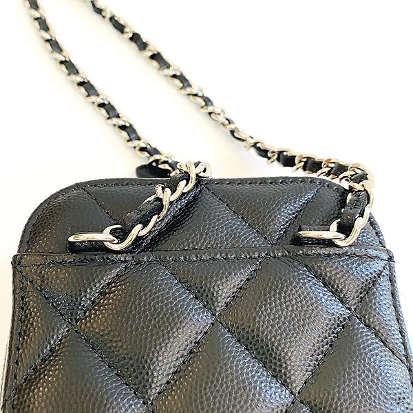 Chanel(샤넬) A70655 은장 COCO 로고 블랙 캐비어 미니 크로스백 [대구동성로점] 이미지7 - 고이비토 중고명품