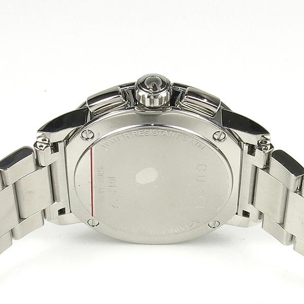 Gucci(구찌) YA101204 블랙 다이얼 G 크로노 크로노그래프 44mm 쿼츠 스틸 남성용 시계 [잠실점] 이미지5 - 고이비토 중고명품