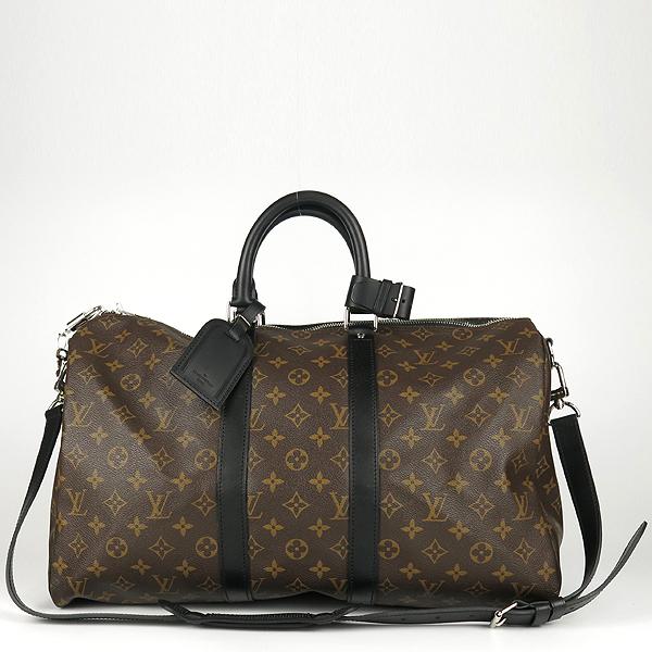 Louis Vuitton(루이비통) M56711 모노그램 캔버스 마카사르 키폴 반둘리에 45 여행용 토트백+숄더 스트랩 2WAY [강남본점] 이미지2 - 고이비토 중고명품