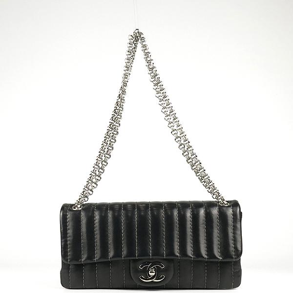 Chanel(샤넬) 블랙 램스킨 COCO로고 미니 플랩 체인 숄더백 [강남본점] 이미지2 - 고이비토 중고명품