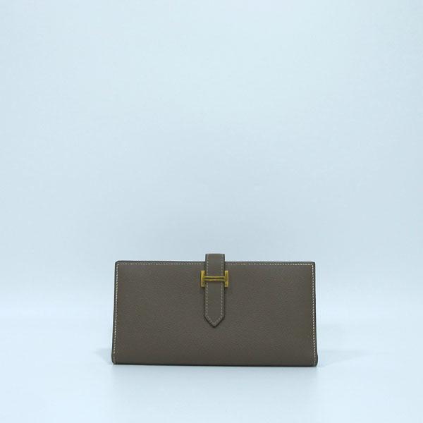 Hermes(에르메스) 금장 로고 에토프 컬러 베안 장지갑  [대구반월당본점] 이미지2 - 고이비토 중고명품