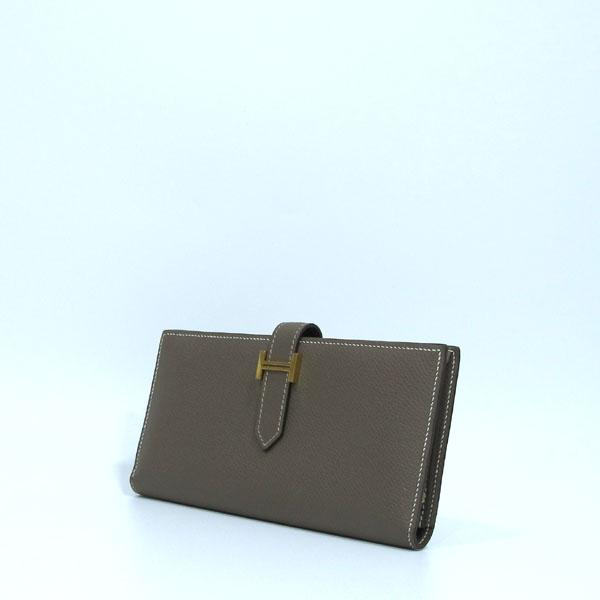 Hermes(에르메스) 금장 로고 에토프 컬러 베안 장지갑  [대구반월당본점] 이미지3 - 고이비토 중고명품