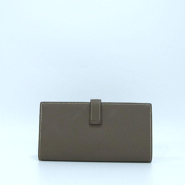 Hermes(에르메스) 금장 로고 에토프 컬러 베안 장지갑  [대구반월당본점] 이미지6 - 고이비토 중고명품