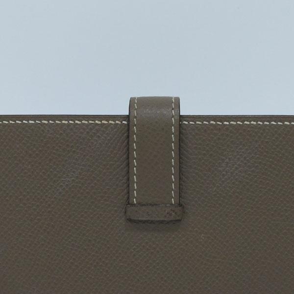Hermes(에르메스) 금장 로고 에토프 컬러 베안 장지갑  [대구반월당본점] 이미지7 - 고이비토 중고명품