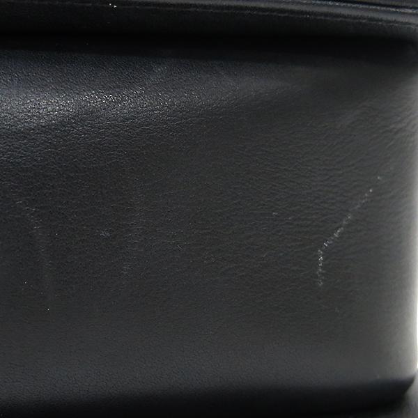 Chanel(샤넬) A67086 블랙 램스킨 쉐브론 보이샤넬 M사이즈 은장 메탈체인 숄더백 [부산센텀본점] 이미지6 - 고이비토 중고명품