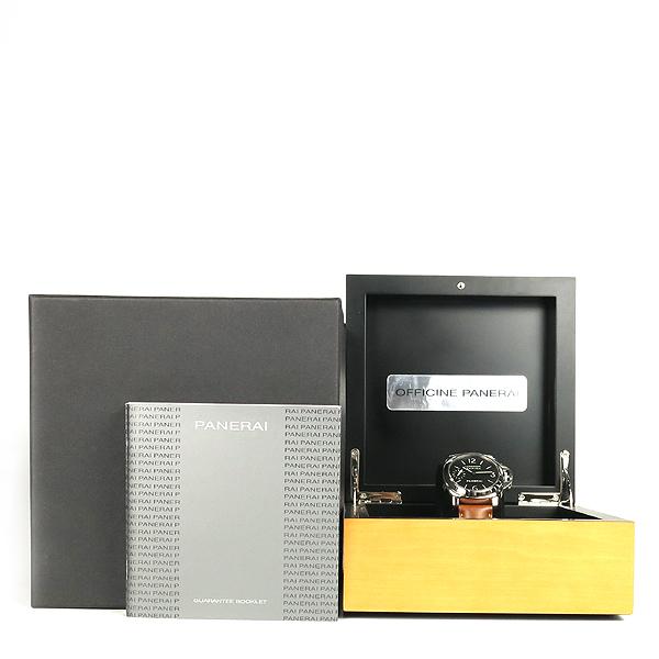OFFICINE PANERAI(오피치네 파네라이) PAM00111 (luminor marina)루미노르 마리나 오토매틱 가죽 밴드 남성용 시계 [강남본점]