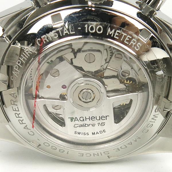 Tag Heuer(태그호이어) CV2014 BA0794 CARRERA(카레라/까레라) 크로노그래프 오토매틱 시스루백 스틸 밴드 남성용시계 [강남본점] 이미지5 - 고이비토 중고명품