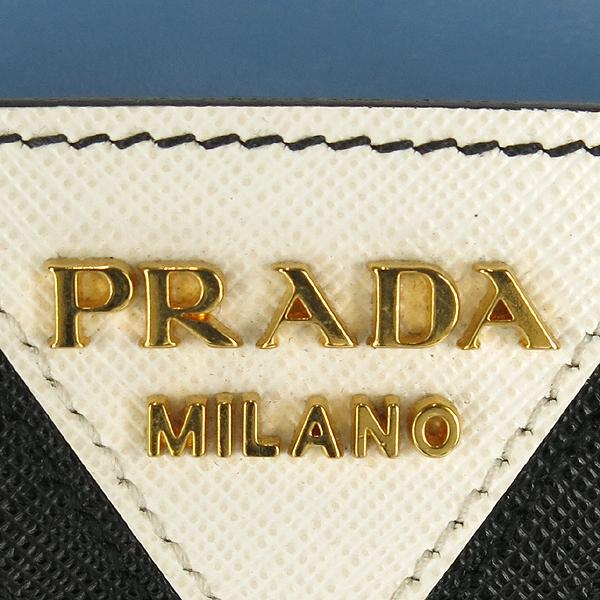 Prada(프라다) 1BA046 CAMMEO 사피아노 레더 혼방  에스플러네이드 토트백 + 숄더 스트랩 [강남본점] 이미지4 - 고이비토 중고명품