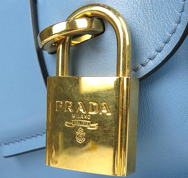Prada(프라다) 1BA046 CAMMEO 사피아노 레더 혼방  에스플러네이드 토트백 + 숄더 스트랩 [강남본점] 이미지6 - 고이비토 중고명품