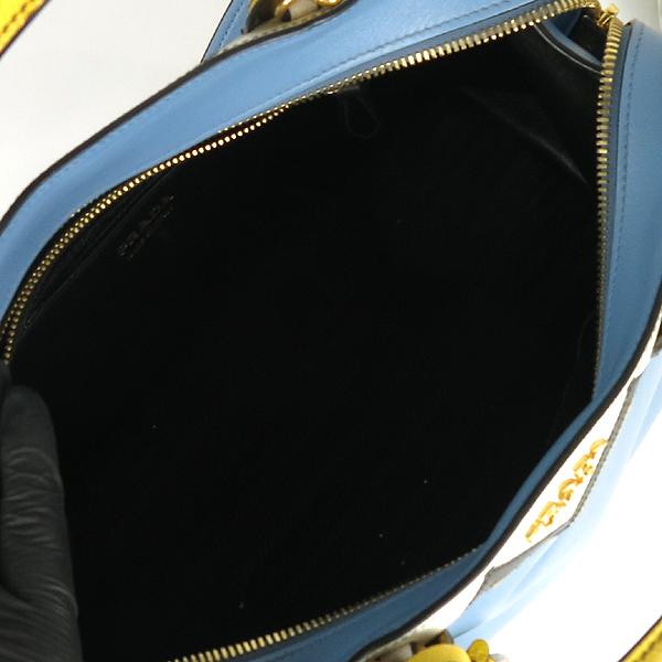 Prada(프라다) 1BA046 CAMMEO 사피아노 레더 혼방  에스플러네이드 토트백 + 숄더 스트랩 [강남본점] 이미지7 - 고이비토 중고명품