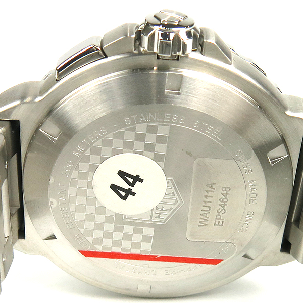 Tag Heuer(태그호이어) WAU111A BA0858 포뮬러1 블랙다이얼 그랜드데이터 쿼츠 남성용 시계 [잠실점] 이미지4 - 고이비토 중고명품