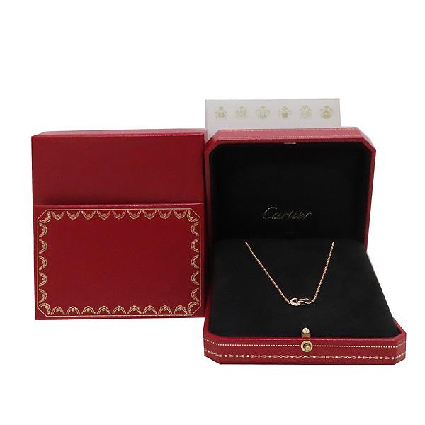 Cartier(까르띠에) B7224505 AU750 18k 핑크골드 11포인트 다이아 목걸이 네크리스 [인천점]