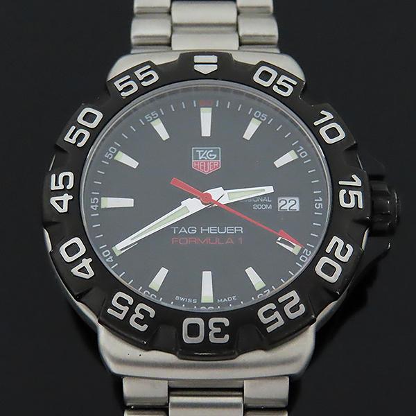 Tag Heuer(태그호이어) WAH1110.BA0850 포뮬러1 스틸 쿼츠 남성용 시계 [대전본점] 이미지2 - 고이비토 중고명품
