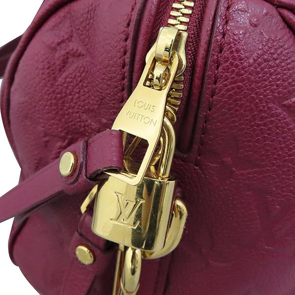 Louis Vuitton(루이비통) M40764 모노그램 버건디 앙프렝뜨 반둘리에 스피디 25 토트백 + 숄더스트랩 2WAY [대구황금점] 이미지4 - 고이비토 중고명품