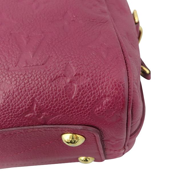 Louis Vuitton(루이비통) M40764 모노그램 버건디 앙프렝뜨 반둘리에 스피디 25 토트백 + 숄더스트랩 2WAY [대구황금점] 이미지5 - 고이비토 중고명품