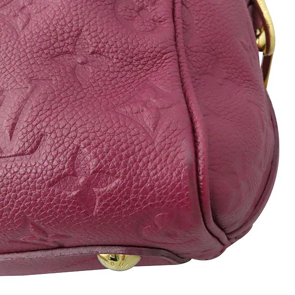 Louis Vuitton(루이비통) M40764 모노그램 버건디 앙프렝뜨 반둘리에 스피디 25 토트백 + 숄더스트랩 2WAY [대구황금점] 이미지7 - 고이비토 중고명품