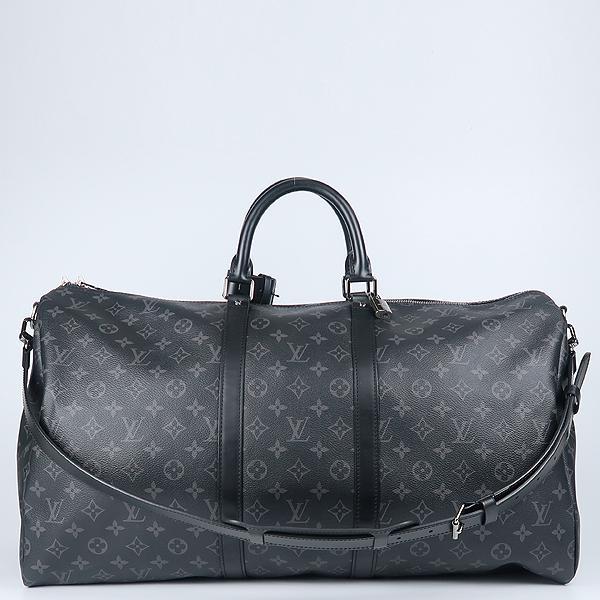 Louis Vuitton(루이비통) M40605 모노그램 이클립스 캔버스 키폴 55 여행용 토트백+숄더스트랩 [강남본점]