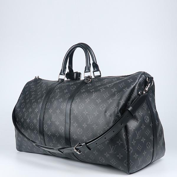 Louis Vuitton(루이비통) M40605 모노그램 이클립스 캔버스 키폴 55 여행용 토트백+숄더스트랩 [강남본점] 이미지2 - 고이비토 중고명품