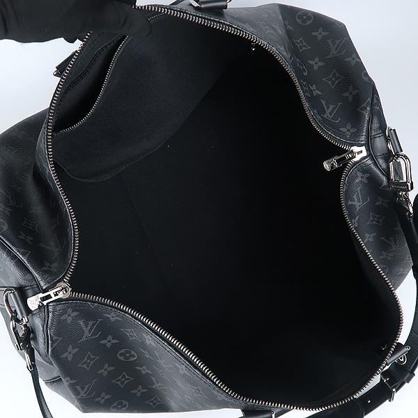 Louis Vuitton(루이비통) M40605 모노그램 이클립스 캔버스 키폴 55 여행용 토트백+숄더스트랩 [강남본점] 이미지5 - 고이비토 중고명품