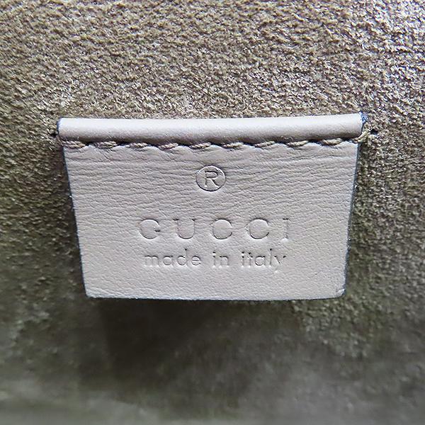 Gucci(구찌) 421970 GG로고 PVC 캔버스 브라운 스웨이드 디오니소스 타이거 락 체인 미니 숄더백 [대전본점] 이미지7 - 고이비토 중고명품