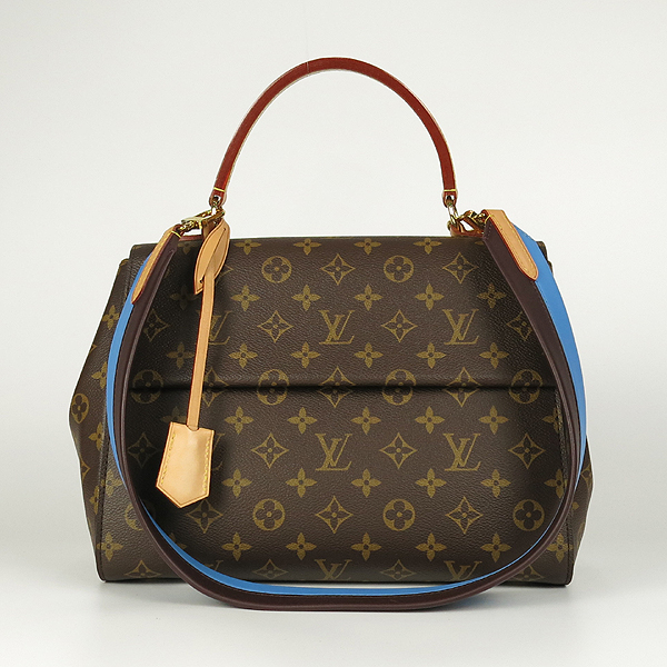 Louis Vuitton(루이비통) M42735 모노그램 캔버스 클루니 MM 블루 글래셜 토트백+숄더 스트랩 [강남본점]