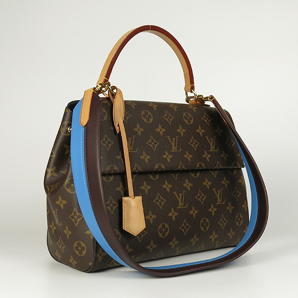 Louis Vuitton(루이비통) M42735 모노그램 캔버스 클루니 MM 블루 글래셜 토트백+숄더 스트랩 [강남본점] 이미지2 - 고이비토 중고명품
