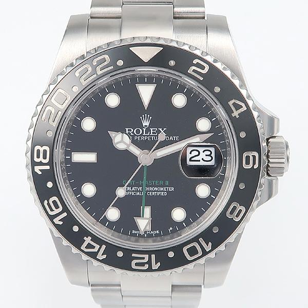 Rolex(로렉스) 신형 116710LN GMT MASTER 2 (GMT마스터 2) 블랙 다이얼 스틸 남성용 시계 [강남본점] 이미지2 - 고이비토 중고명품