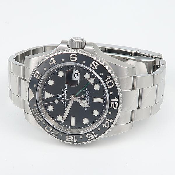 Rolex(로렉스) 신형 116710LN GMT MASTER 2 (GMT마스터 2) 블랙 다이얼 스틸 남성용 시계 [강남본점] 이미지3 - 고이비토 중고명품