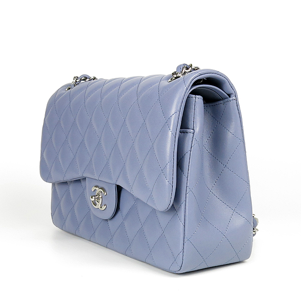 Chanel(샤넬) A58600 램스킨 클래식 점보 사이즈 은장 체인 숄더백 [강남본점] 이미지3 - 고이비토 중고명품