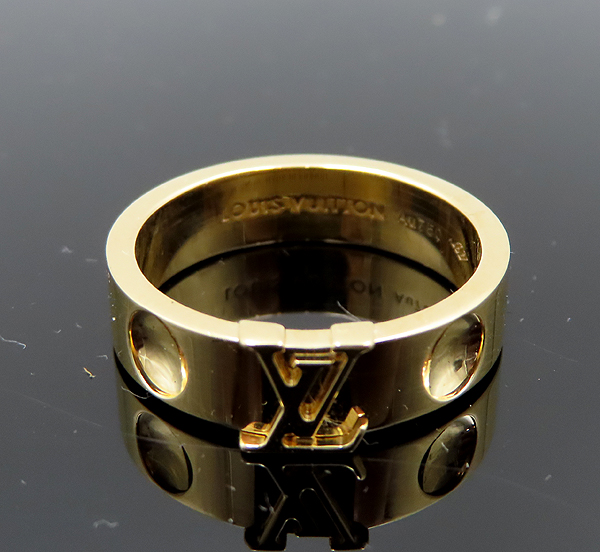 Louis Vuitton(루이비통) Q9K96H 18K 옐로우 골드 앙프렝뜨 반지-14호 [분당정자점] 이미지3 - 고이비토 중고명품